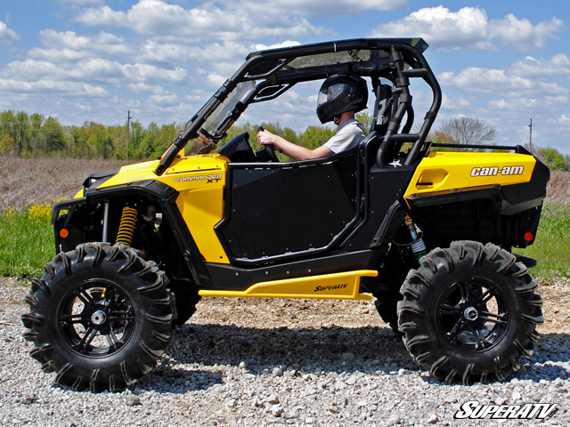 tinted roof for can am commander by super atv. Black Bedroom Furniture Sets. Home Design Ideas