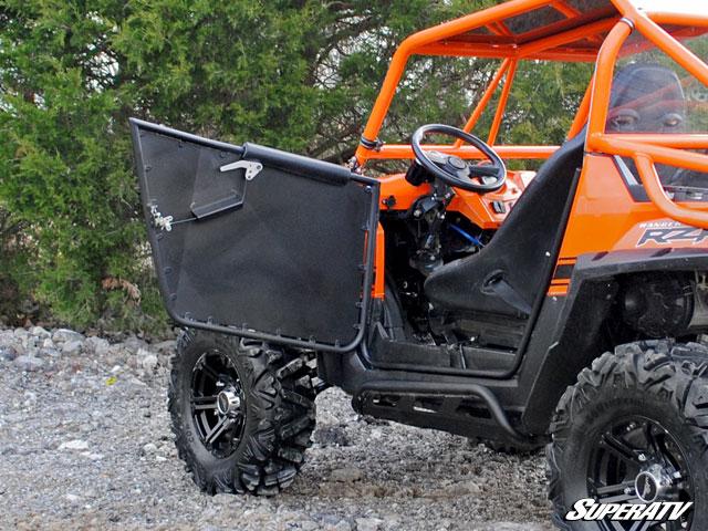 Super ATV Doors for Polaris RZR & Low Profile Doors for the Polaris RZR