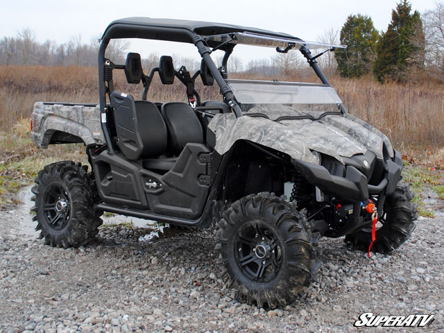 Best Side By Side Utv >> Flip Windshield for the Yamaha Viking by Super ATV