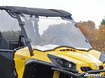 Super ATV Scratch Resistant Full Windshield for Can-Am Commander