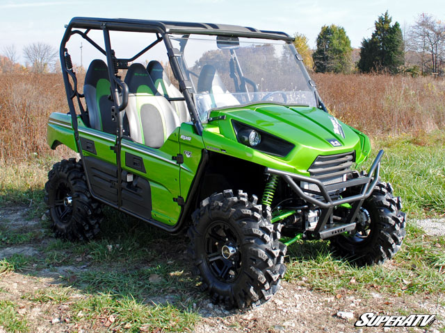 Full Windshield For The Kawasaki Teryx By Super Atv