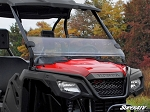 Super ATV Scratch Resistant Half Windshield for Honda Pioneer 500