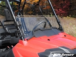 Super ATV Scratch Resistant Half Windshield for Honda Pioneer 700