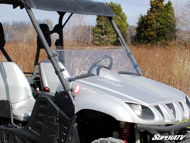 Half windshield for the yamaha rhino by super atv for Yamaha rhino windshield template