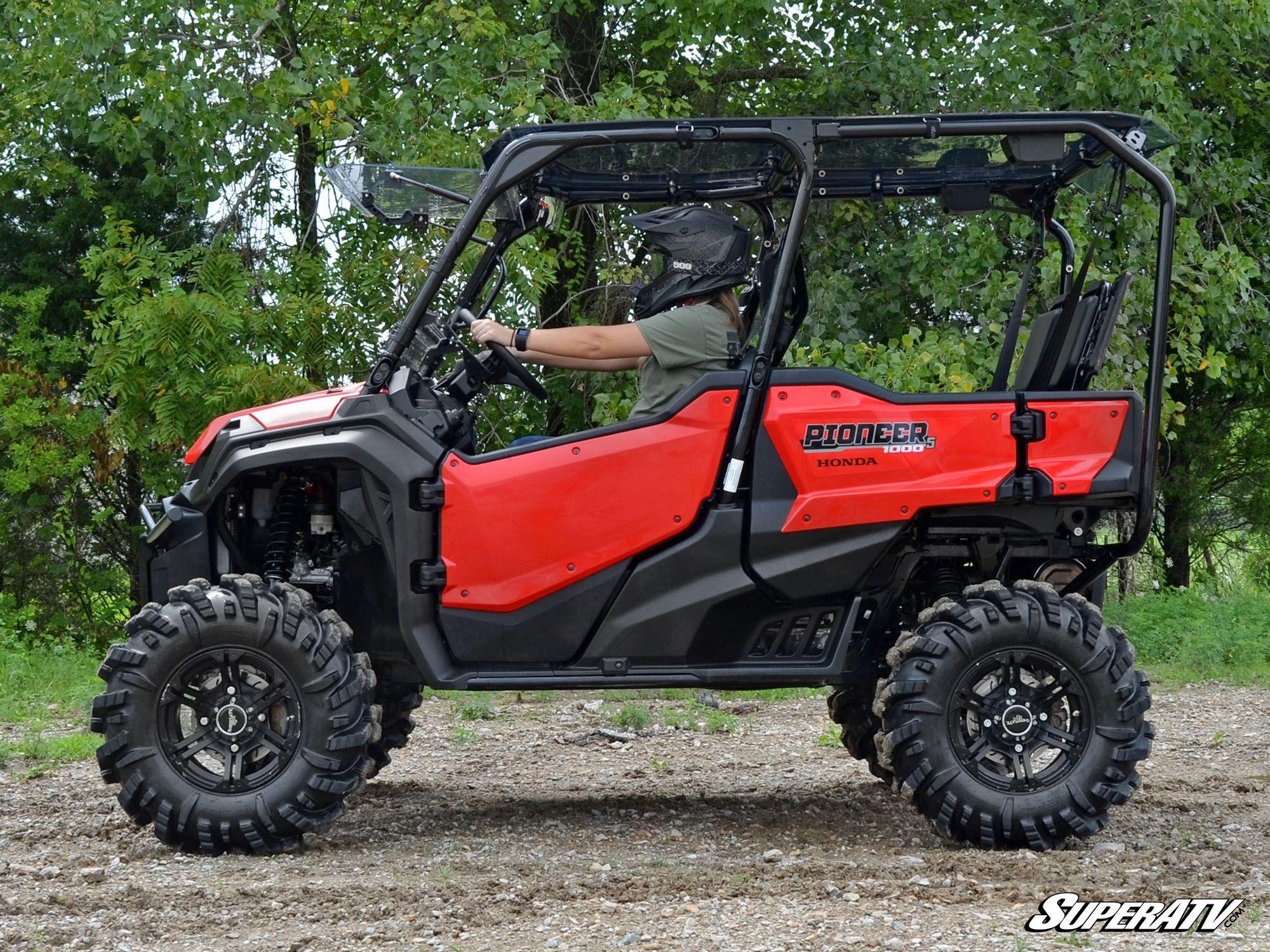 6 Seater Utv >> Super ATV 4 inch Portal Gear Lift for Honda Pioneer 1000