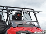 Super ATV Scratch Resistant Flip Windshield for Honda Pioneer 700