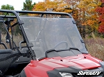 Super ATV Scratch Resistant Full Windshield for Honda Pioneer 700