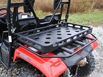 Super ATV Rear Plastic Cargo Rack for the Honda Pioneer 500