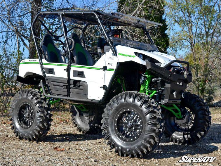 Lifted Kawasaki Teryx