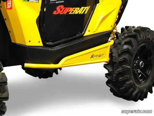 Nerf Bars For Can Am Maverick By Super Atv