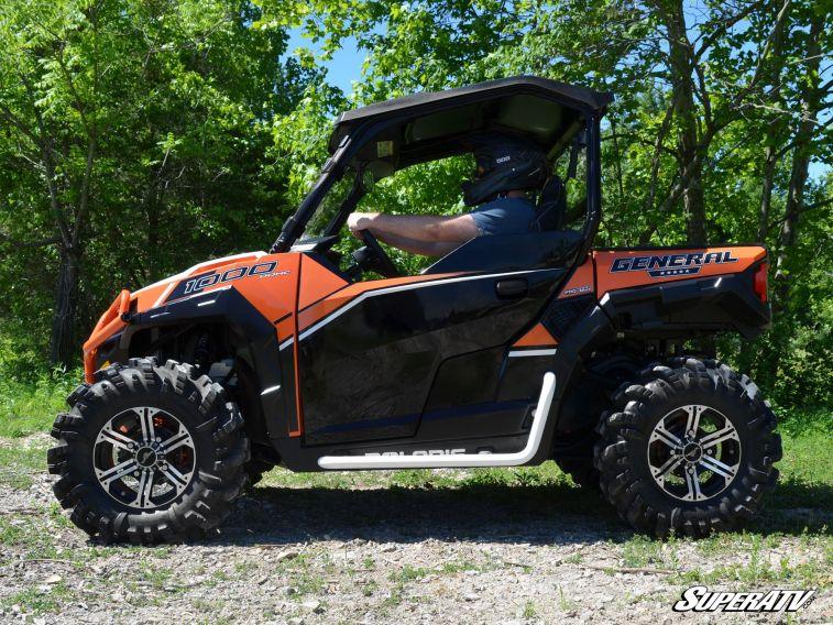 Polaris 1000 Atv >> Super ATV Heavy Duty Nerf Bars for Polaris General 1000