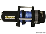 Super ATV 4500 lb. Synthetic Rope Winch-With Wireless Remote