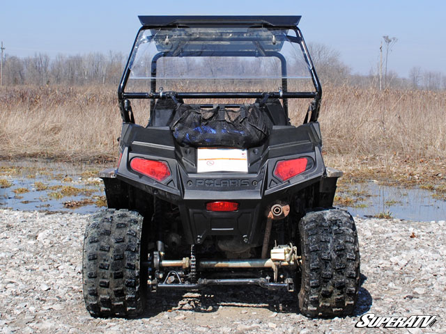 rear windshield for the polaris rzr 170 by super atv. Black Bedroom Furniture Sets. Home Design Ideas