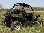 Super ATV Rear Cage Support for Polaris RZR