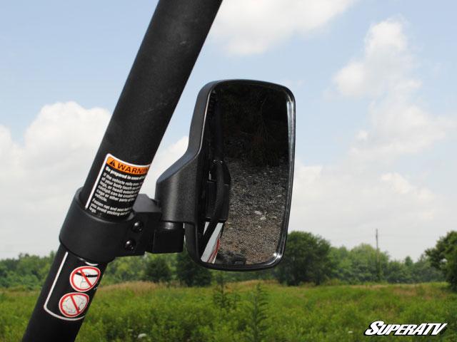 Utv Rear View Mirror >> Universal Side VIew Mirror by Super ATV