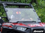 Super ATV Scratch Resistant 3/4 Windshield for Polaris RZR XP 1000 / RZR 900