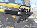 Super ATV Diamond Plate Front Bumper for Can-Am Defender