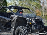Super ATV Scratch Resistant Half Windshield for Can-Am Maverick X3