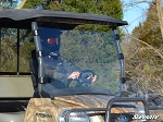 Super ATV Scratch Resistant Full Windshield for Kubota RTV 900