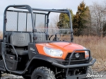 Super ATV Scratch Resistant Half Windshield for Kubota RTV X-900 / X-1120D