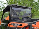 Super ATV Scratch Resistant Rear Windshield for Polaris General