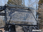 Super ATV Scratch Resistant Rear Windshield for RZR 170