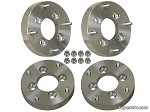 Super ATV Wheel Adapters, 4/110 to 4/156 1.5 thick (set of 4)