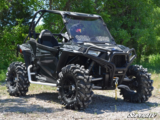 14 Inch Tires >> Super ATV Full Scratch Resistant Vented Windshield for Polaris RZR 900 / RZR XP 1000