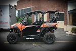UTVMA Back Seat and Roll Cage Kit for Polaris General 1000