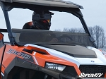 Super ATV Scratch Resistant Half Windshield for Polaris General