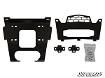 Super ATV Winch Mounting Plate for Polaris General 1000 & RZR 1000 Turbo