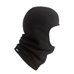 Turtle Fur Balaclava, Black Micro Fur