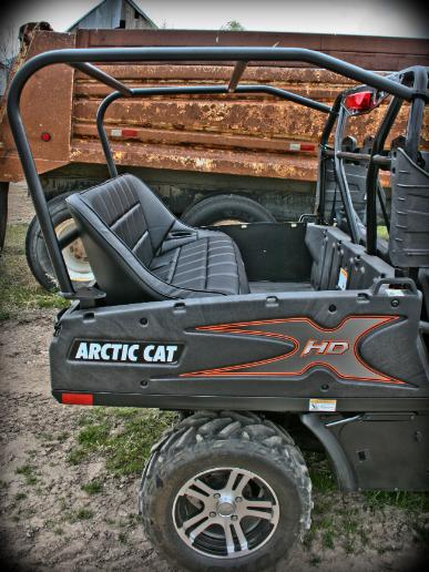 Utvma Back Seat And Roll Cage Kit For Arctic Cat Prowler Hdx