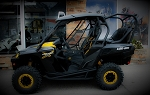 UTVMA Can-Am Commander Back Seat and Roll Cage Kit
