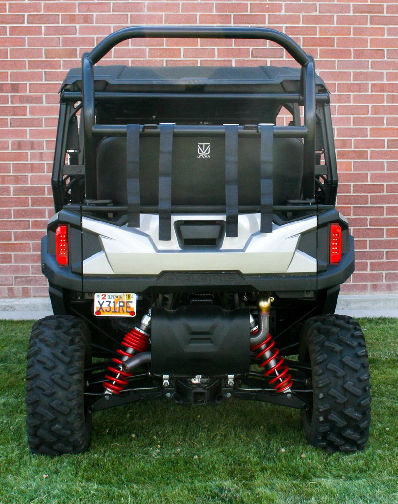 utvma back seat and roll cage kit for polaris general 4 1000. Black Bedroom Furniture Sets. Home Design Ideas