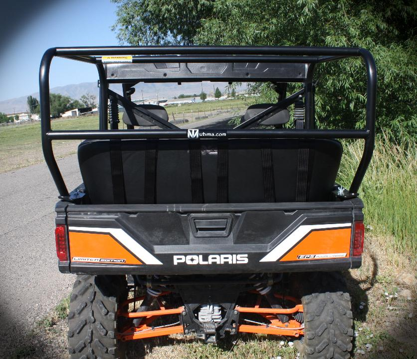 Utvma Back Seat And Roll Cage Kit For Polaris Ranger Xp 900