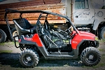 UTVMA Polaris RZR 570 Back Seat and Roll Cage Kit