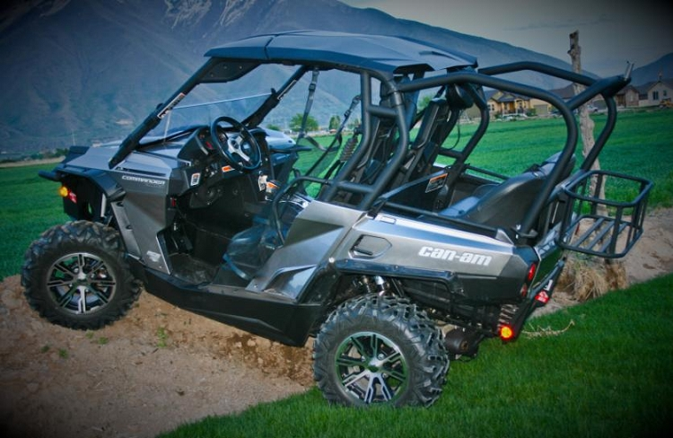Utvma Cooler Rack For Can Am Commander