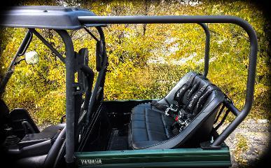 Utvma Back Seat And Roll Cage Kit For Yamaha Rhino