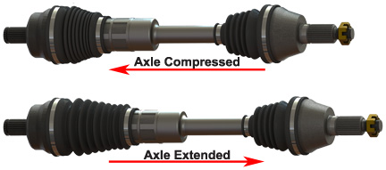 Voodoo atv axles
