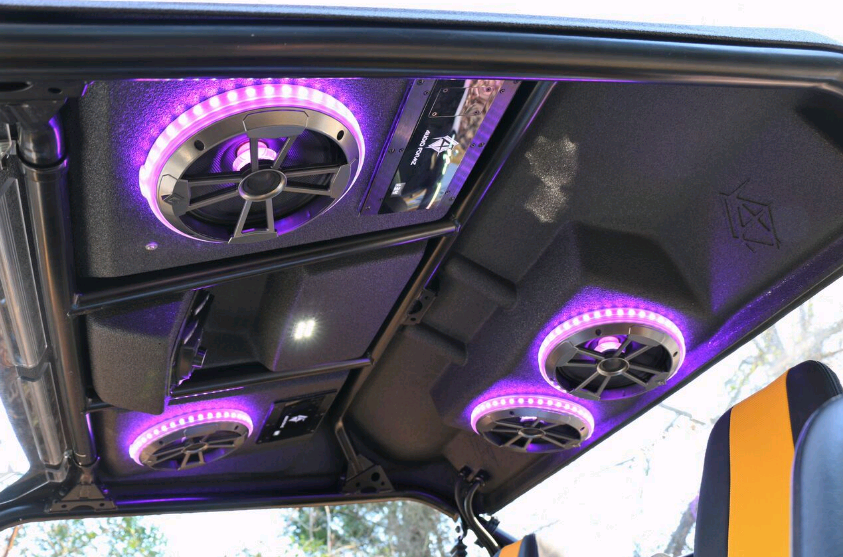 Audioformz Stereo Top For Yamaha Yxz 1000r