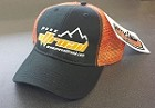 Black & Orange Pure Offroad Trucker Hat