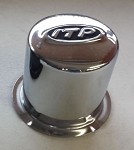 ITP Center Caps for Delta Steel Wheels, Chrome