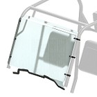 Kolpin Full Fixed Windshield with Scratch Resistant Finish for Honda Pioneer