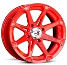 "MSA M12 Diesel ATV Wheels - 14"" Fire Engine Red"