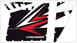 2013 Polaris Rzr Xp Graphic Kt For Pro Armor Doors Walker