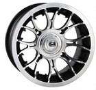 "Douglas Diablo ATV Wheels - 12"" Machined"