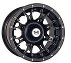 "Douglas Diablo ATV Wheels - 12"" Black"