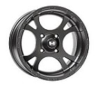 "Douglas Rattlesnake ATV Wheels - 12"" Black"