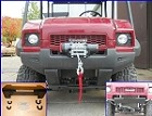 Front Bumper Winch Mount for Kawasaki MULE 4010 by EMP